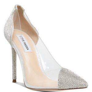 Gorgeous Rhinestone Heel!